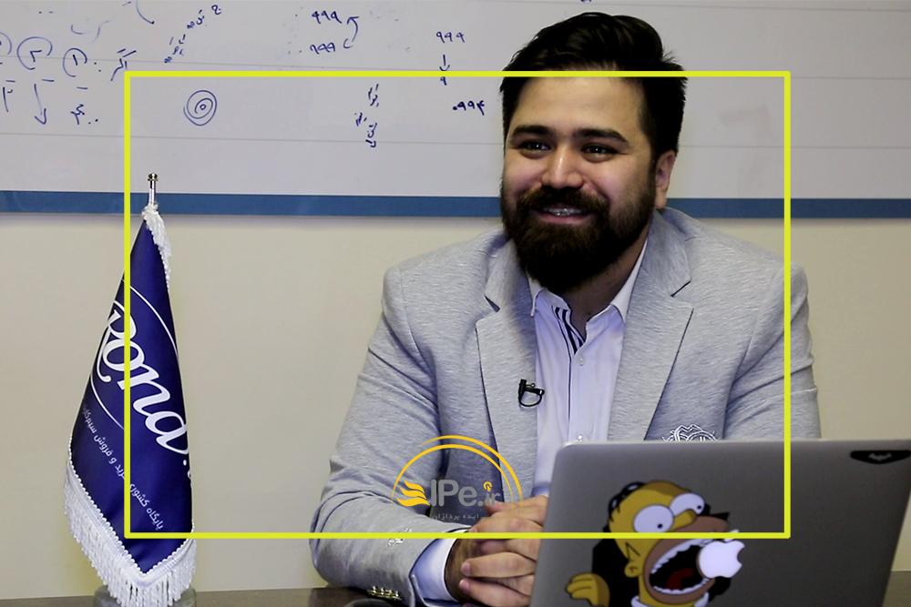 محمدرضا رحمانی مدیر عامل Rond.ir