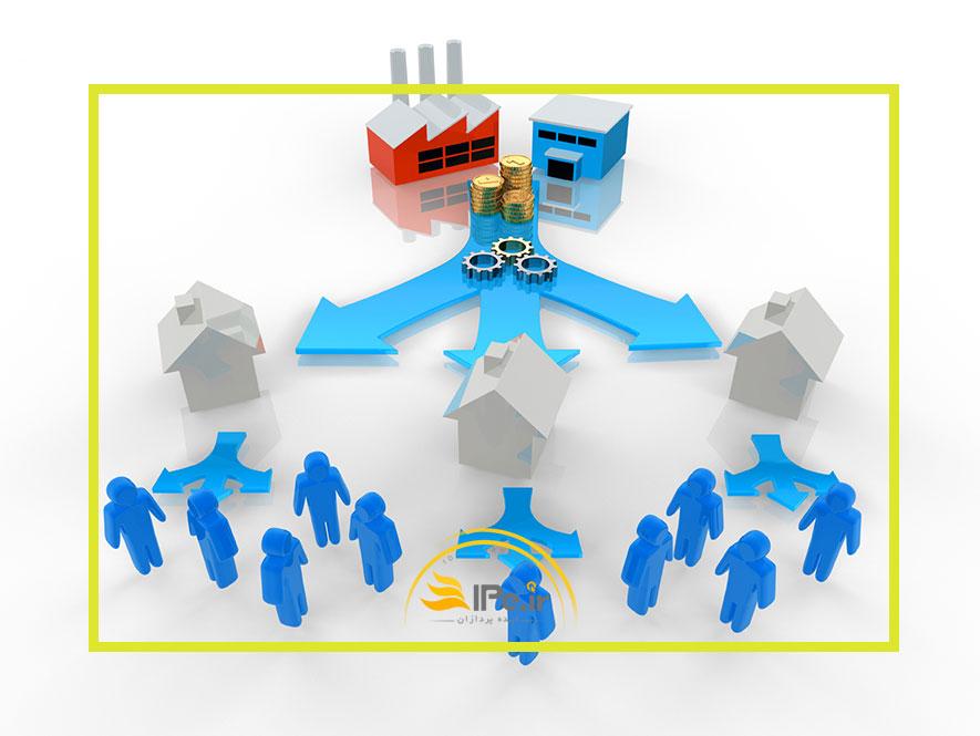 انواع کانالهای توزیع در بازار و نقش هر کدام در قیمت نهایی محصول